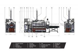 TDP-1 plant process flow diagram