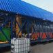 Automobile shredder residue pyrolysis plant