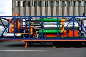 Continuous cycle pyrolysis unit TDP-2 produced by IPEC