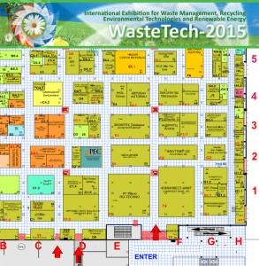 WasteTech-2015 floor layout