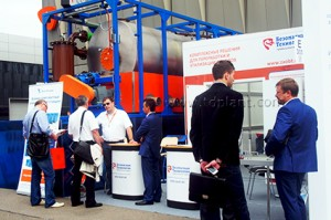Pyrolysis plant TDP-2-200 at the international oil and gas exhibition MIOGE-2015