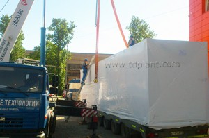 TDP-2-800 is ready for shipment to the customer