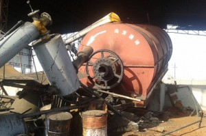 Pyrolysis accidents