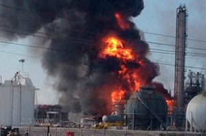Pyrolysis accident in Budennovsk