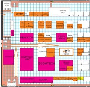 Floor plan WASMA 2015