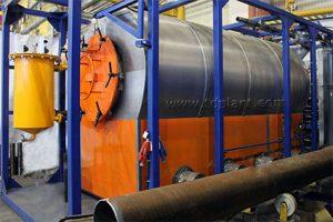 Pyrolysis plant TDP-1-1000